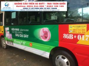 Đơn vị quảng cáo trên xe buýt tại Nam Định, Hà Nam, Ninh Bình, Thái Bình, Thanh Hóa 0934 544 898