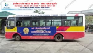 Quảng cáo trên xe buýt Thanh Hóa, Nghệ An - QC Thương hiệu Dây cáp điện Trần Phú 0934 544 898