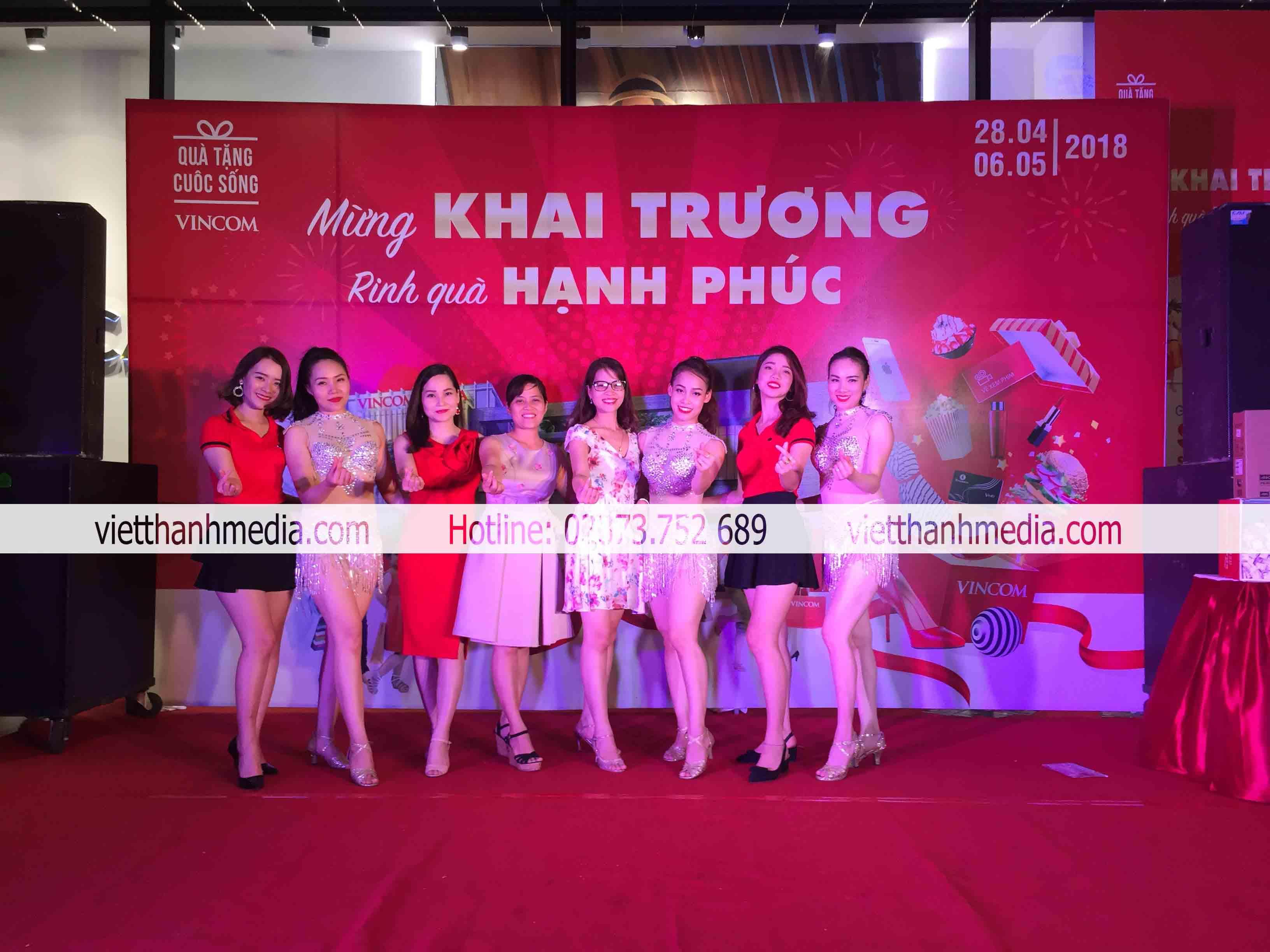 Khai trương Trung tâm thương mại Vincom Plaza Thanh Hóa