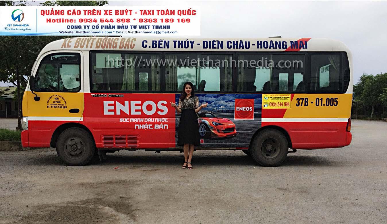 Tại sao bạn lại chọn hình thức quảng cáo trên xe buýt (bus), xe taxi 0934 544 898