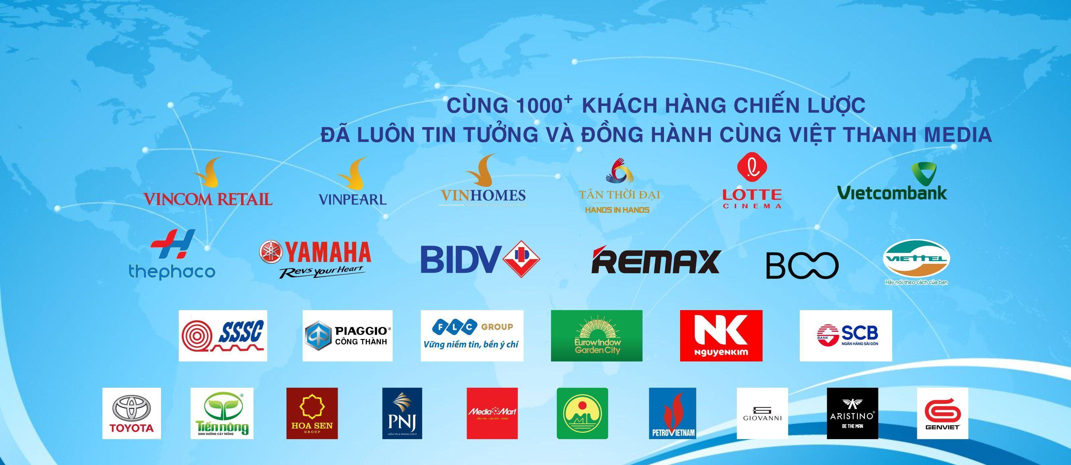 Đối tác chiến lược của Việt Thanh Media