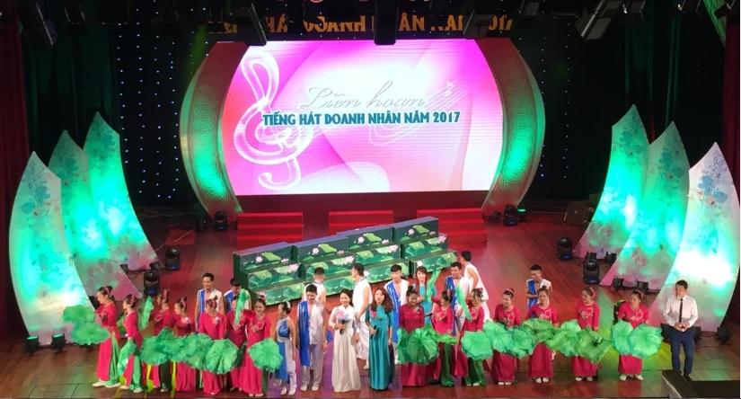 Liên Hoan tiếng hát Doanh Nhân năm 2017 - Giải Nhất