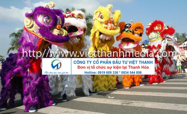 Múa Lân chuyên nghiệp tại Thanh Hóa Hotline: 0914.236.139
