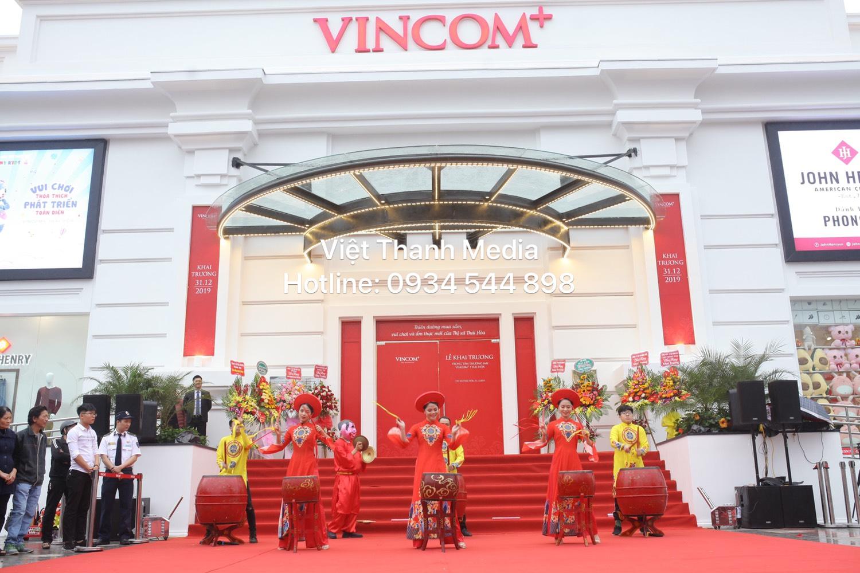 Chúc mừng Khai trương Vincom+ Thái Hòa Nghệ An - ĐV tổ chức Sk Việt Thanh Media 0934 544 898